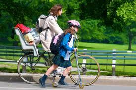 Hasznos felszerelés a kerékpár gyerekülés